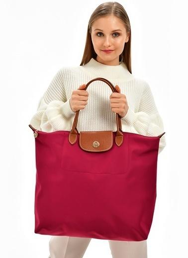 TH Bags Çanta Bordo